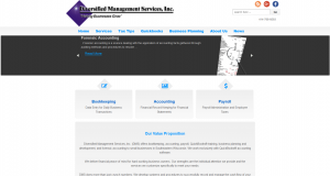WordPress Site Diversified Management Services