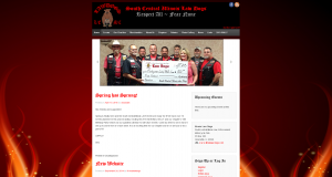 WordPress site motorcycle club
