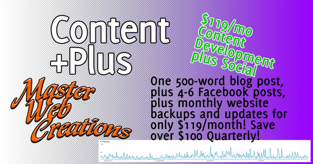 Content +Plus (2019) | Master Web Creations | West Bend, WI
