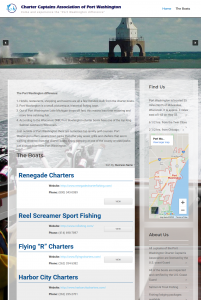 Charter Captains Association website